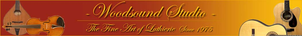 Woodsound Studio - The fine art of Lutherie since 1975