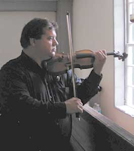 "Ferdinand ""Dino"" Liva playing his Degani Violin"